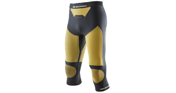 X-Bionic Ski Touring Evo Pants Medium Men black/yellow sunshine